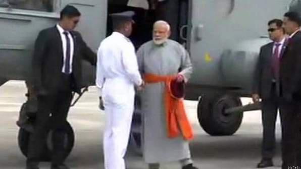 प्रधानमंत्री मोदी पहुंचे बाबा केदार की शरण में,किया रुद्राभिषेक, कल पहुंचेंगे बद्रीनाथ धाम