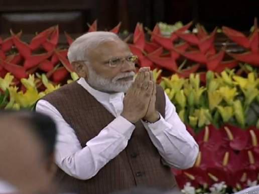 एनडीए ! सर्वसम्मति से संसदीय दल के नेता बने नरेंद्र मोदी
