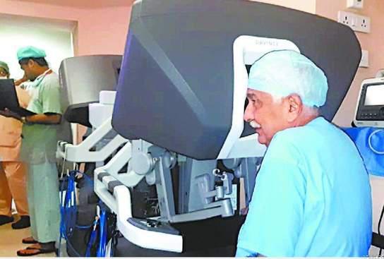 पीजीआई ! बना यूपी का पहला रोबोटिक सर्जरी केंद्र