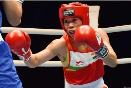 विश्व बॉक्सिंग चैंपियनशिप ! मैरी कॉम स्वर्ण पदक से हुई दूर, कास्य पदक से संतोष