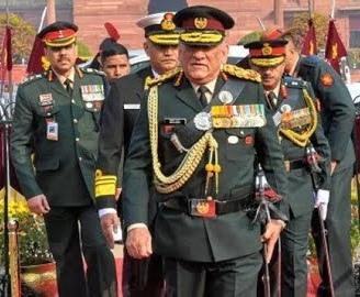 सीडीएस ! जनरल बिपिन रावत के हाथ में कमान