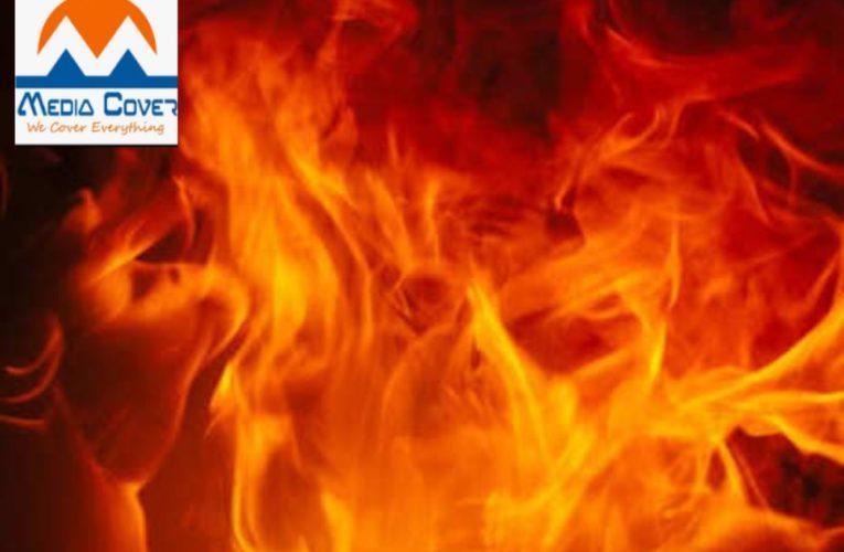 दुस्साहस ! युवक को पेड़ से बांधकर जिंदा जलाया