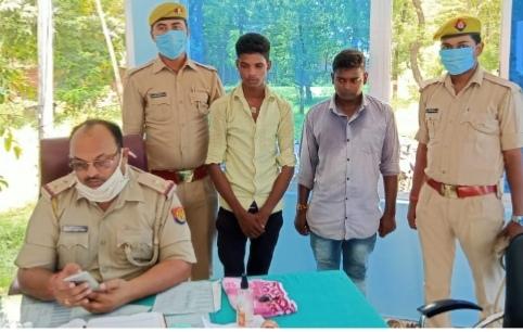 चोरी की बाइक संग दो गिरफ्तार, पहुंचे जेल