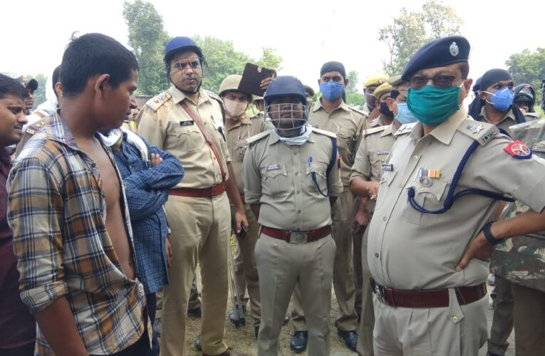 जमीनी विवाद में चली गोली, घायल व्यक्ति की हुई मौत, दैहिक समीक्षा के बाद दो हमलावरों को ग्रामीणों ने पुलिस को सौंपा