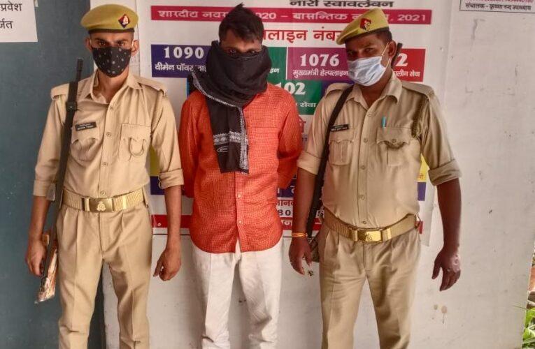 पुलिस टीम पर फायर झोंकने वाला अपराधी पहुंचा जेल