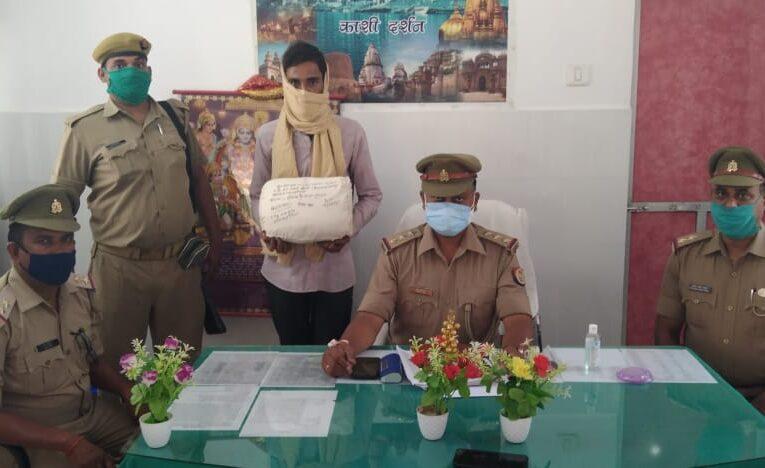दीपक चढ़ा पुलिस के राडार पर, 1 किलो 425 ग्राम नाजायज गांजा बरामद