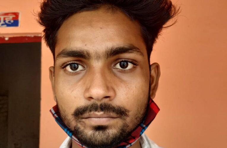 चोरी की बाइक संग वाहनचोर गिरफ्तार