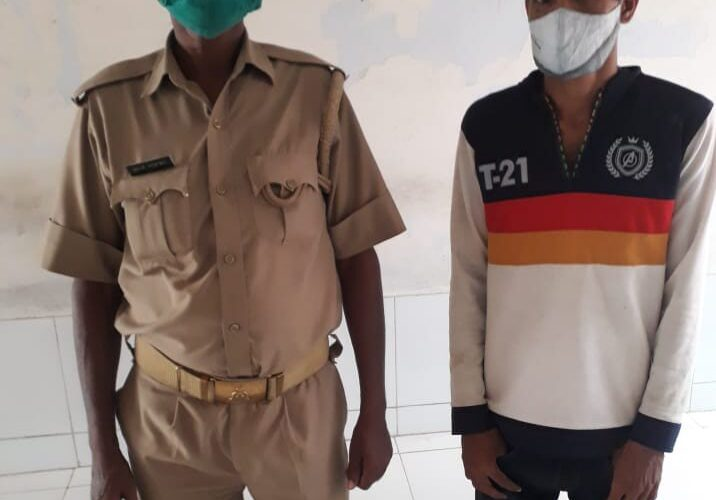 पाक्सो एक्ट का वांछित अभियुक्त गिरफ्तार