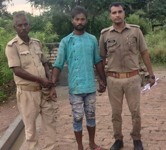 अवैध 1 किला 250 ग्राम गांजा के साथ एक अभियुक्त गिरफ्तार